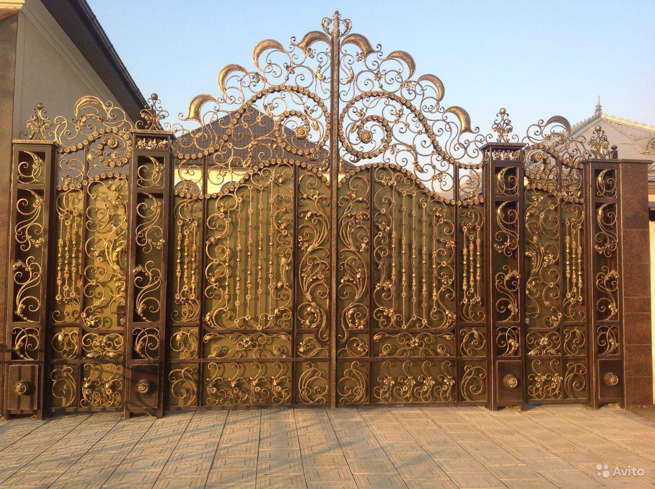 элитные кованые ворота москва молодости, несмотря
