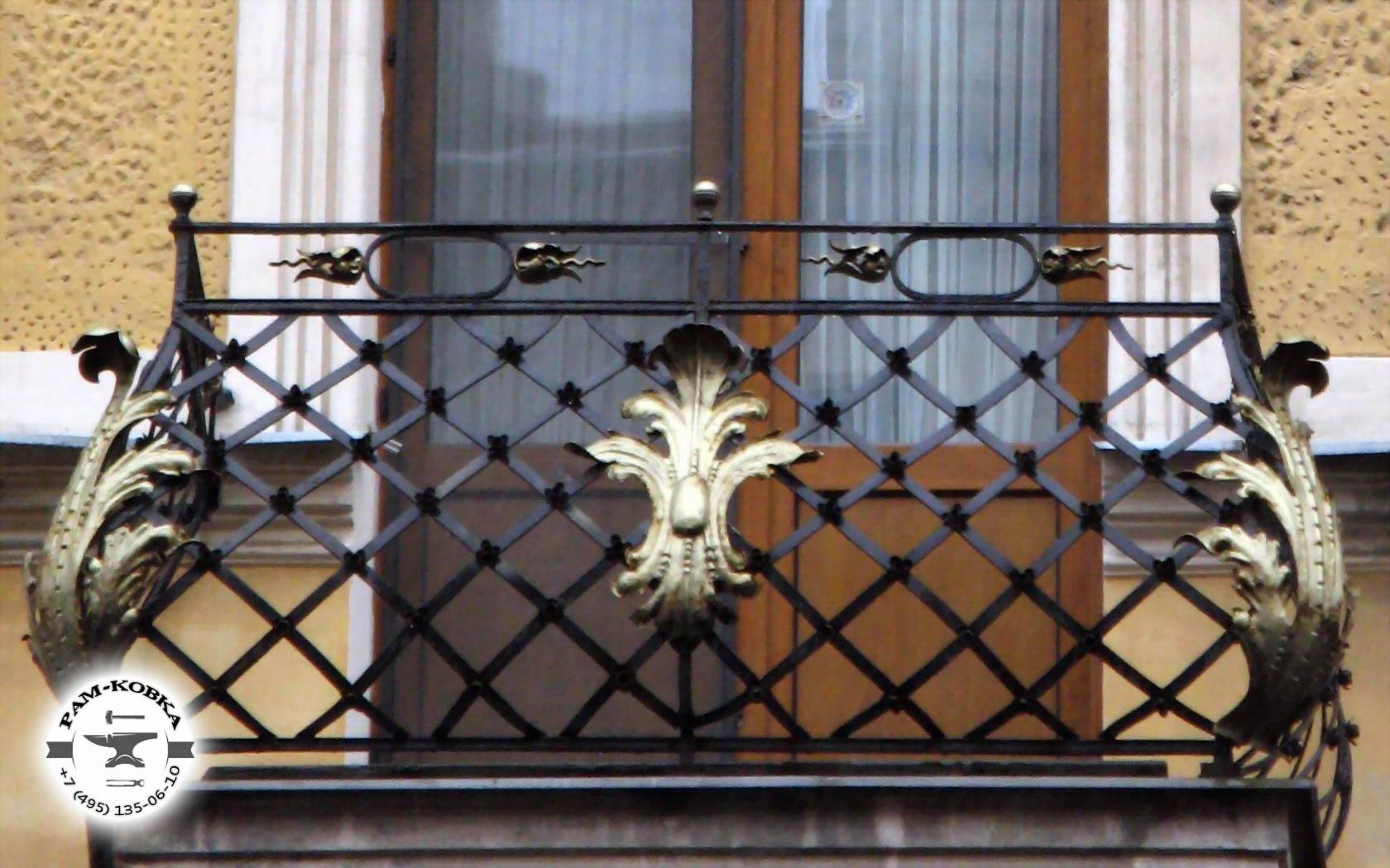 Кованые балконы раменское люберцы жуковский домодедово ногин.