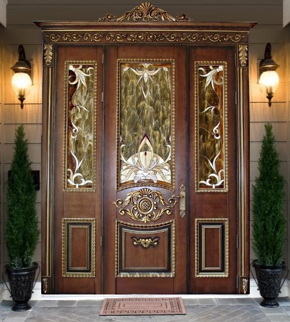 элитные парадные железные двери